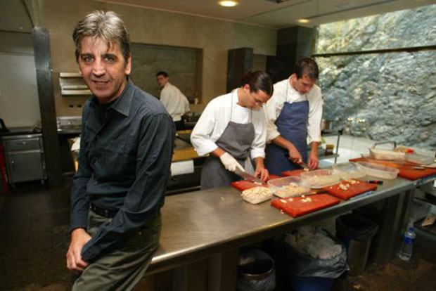 Juli Soler in the kitchen of elBulli photo by Pere Duran