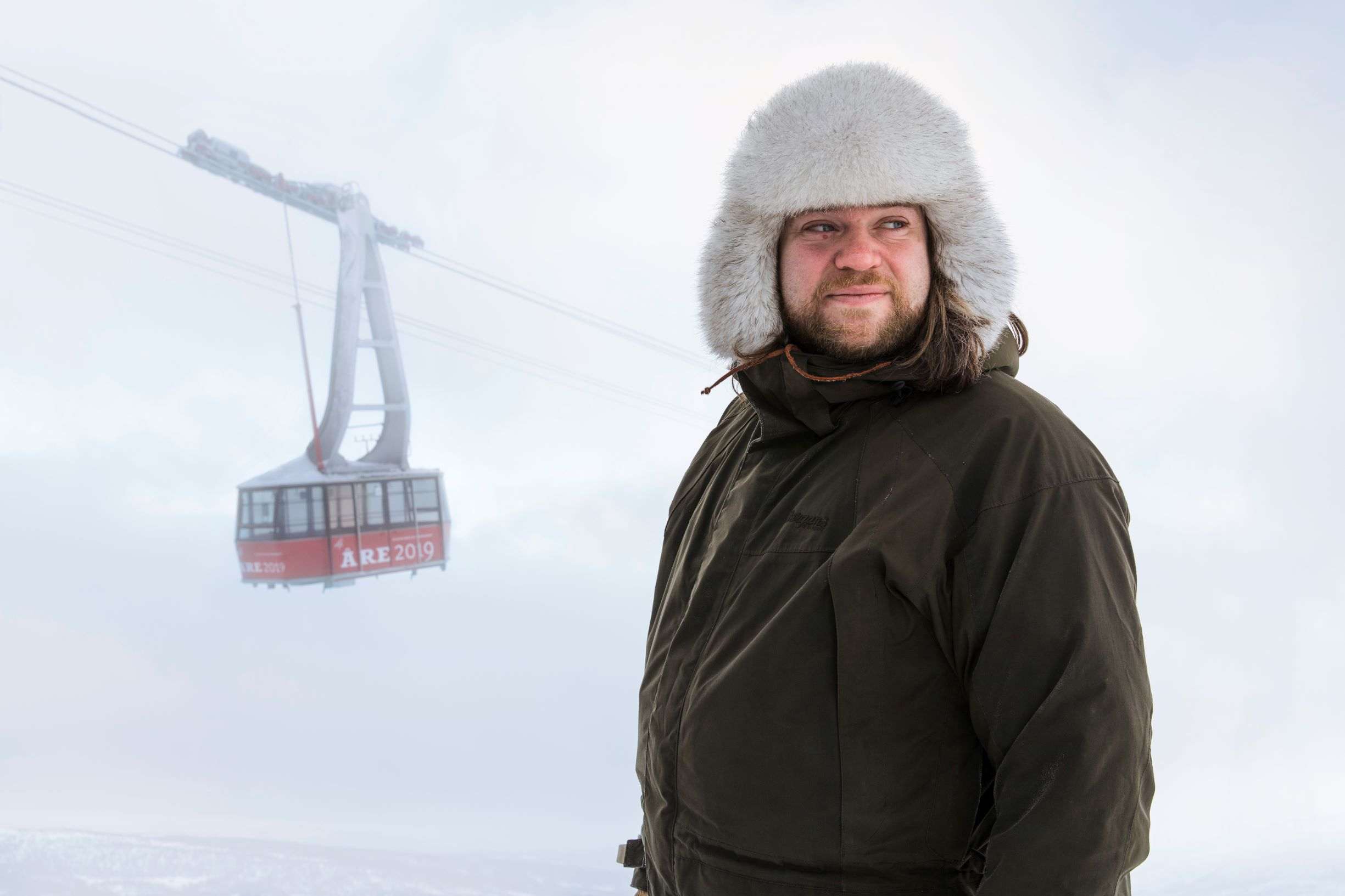 Magnus Nilsson is opening a restaurant in a cable car