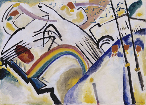 Cossacks (1910-11) by Wassily Kandinsky