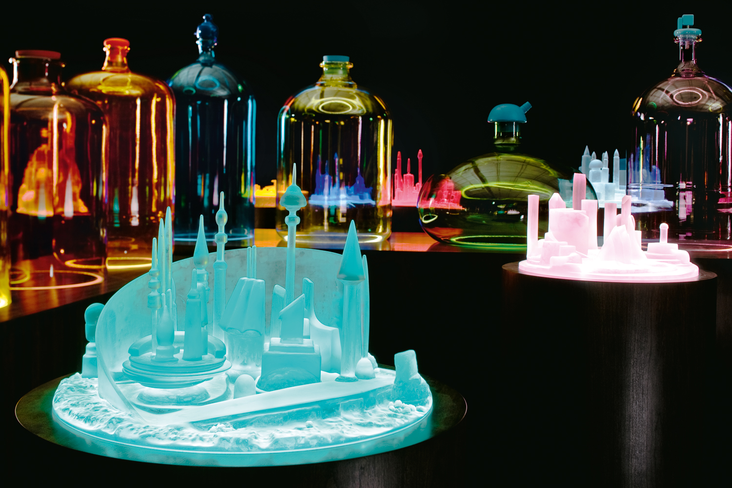 Mike Kelley's Kandor series