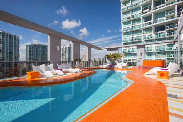 Karim Rashid's splash of colour in Miami