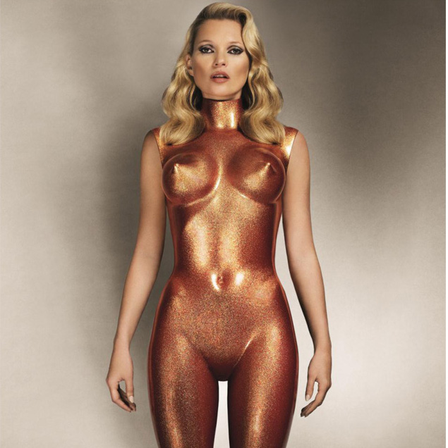 Kate Moss Bronze Glitter (2013) by  Allen Jones