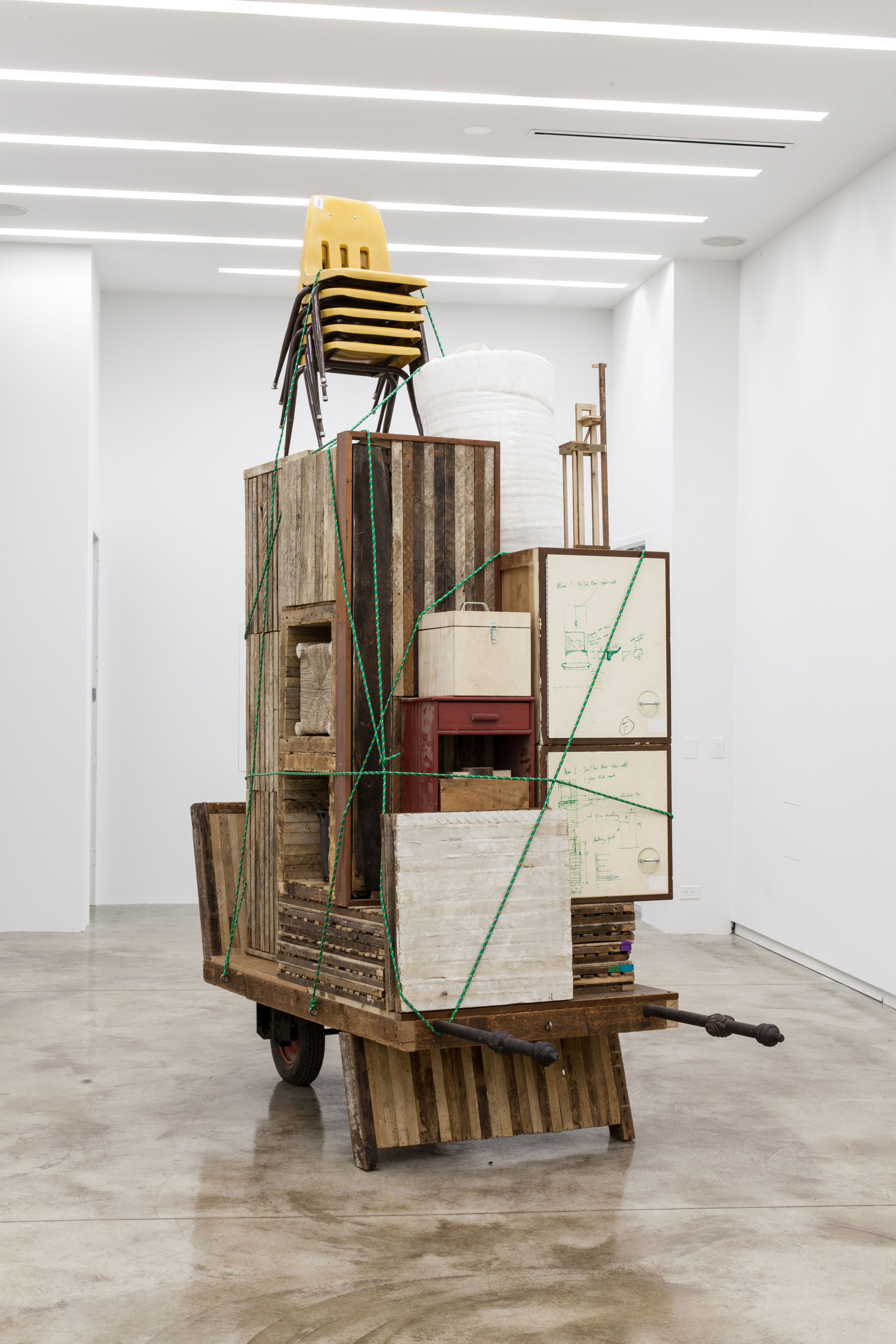 Migration Rickshaw for German Living by Theaster Gates, courtesy of Kavi Gupta Gallery