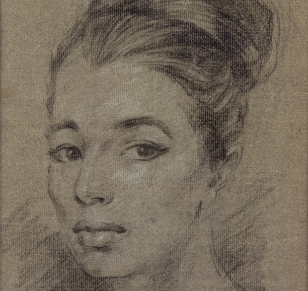 Christine Keeler by Stephen Ward, pastel, c.1961 © National Portrait Gallery, London