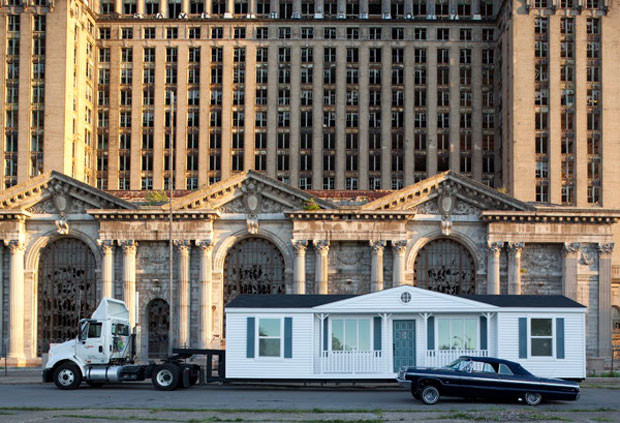 Mike Kelley, Mobile Homestead (2012)