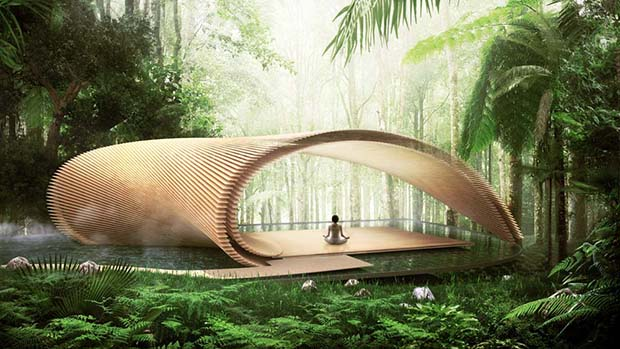 Kengo Kuma's high-tech take on wood
