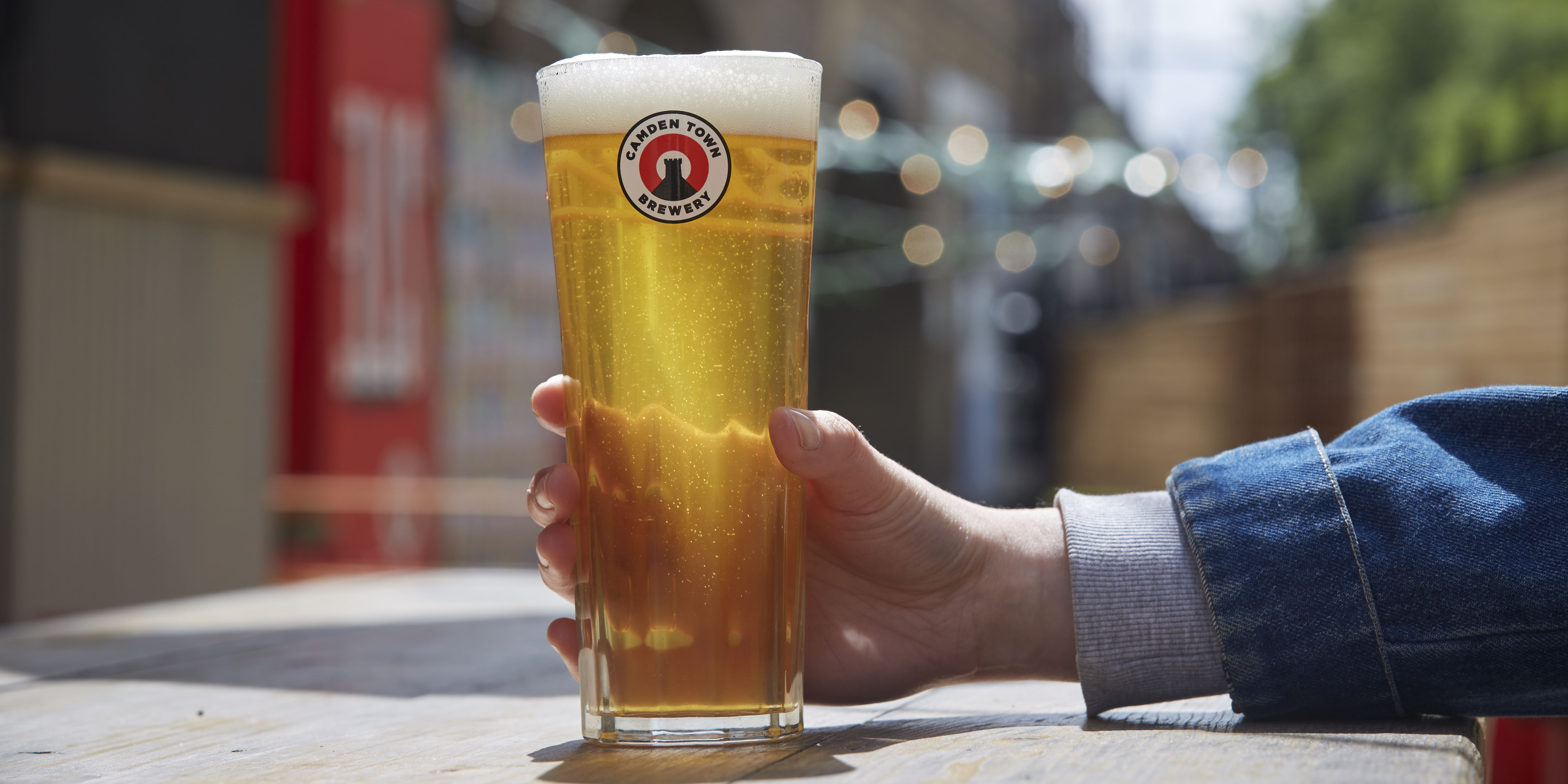 Sir Kenneth Grange's new glass, the Kenneth. Image courtesy of Camden Town Brewery
