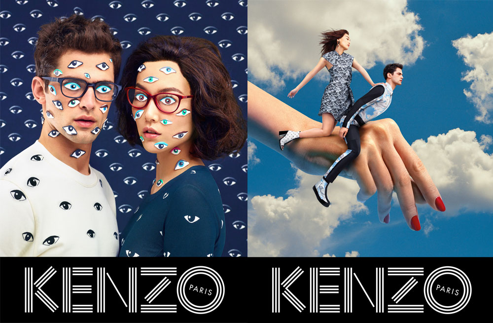 From Toilet Paper's Kenzo campaign