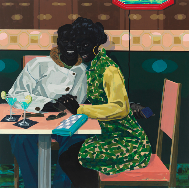 Untitled (Club Couple), 2014 - Kerry James Marshall