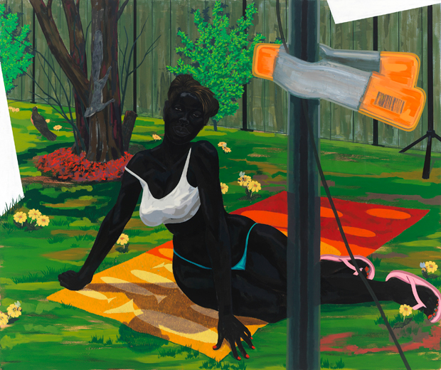 Untitled (Beach Towel), 2014 - Kerry James Marshall