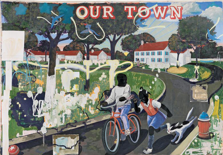 Kerry James Marshall, Our Town (1995)