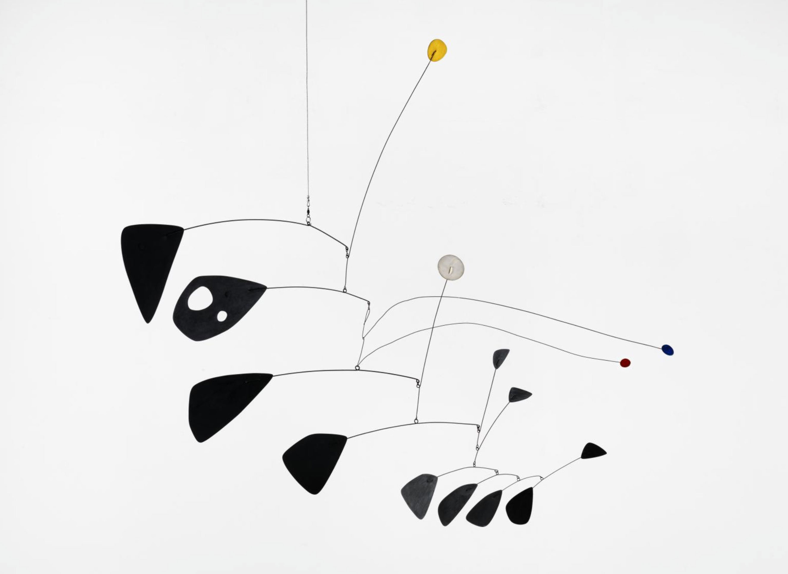 Antennae with Red and Blue Dots (1953) - Alexander Calder