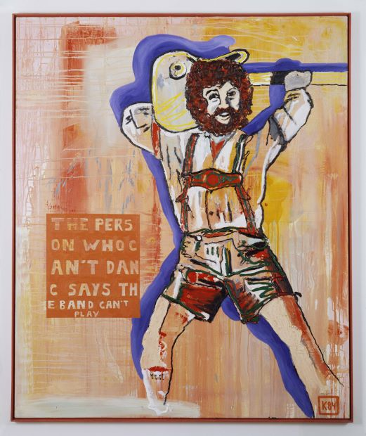 Martin Kippenberger - The person who can't dance says the band can't play (1984)