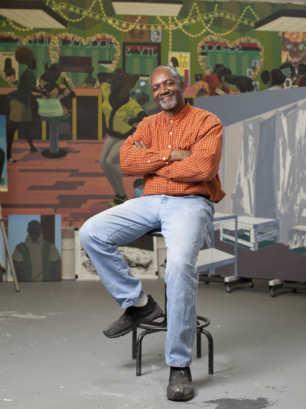 Kerry James Marshall. Photo: Kendall Karmanian.