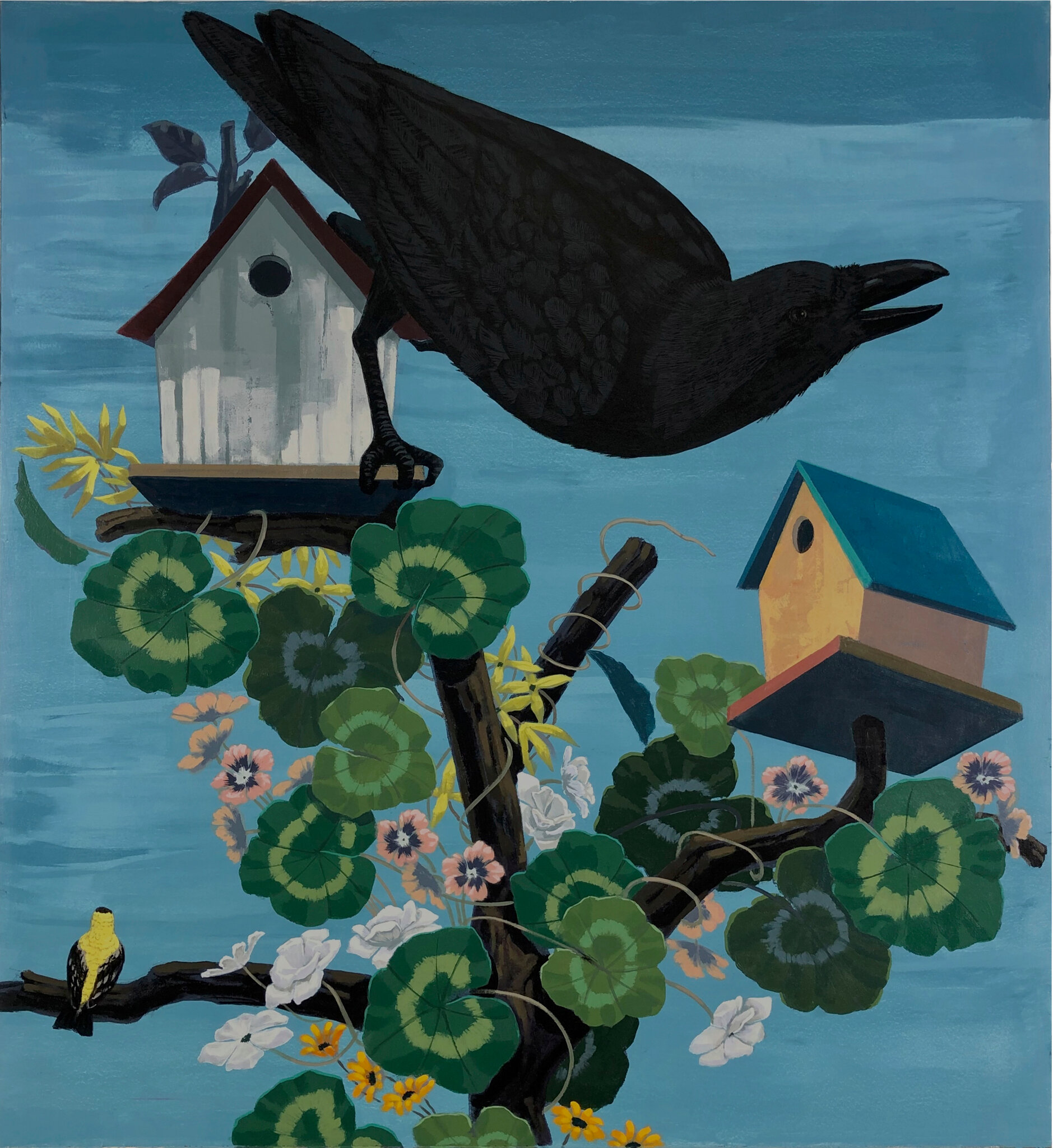 The message behind Kerry James Marshall's new avian art