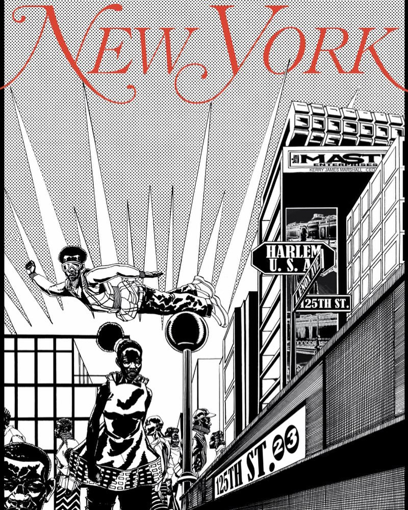 Kerry James Marshall's cover for New York magazine