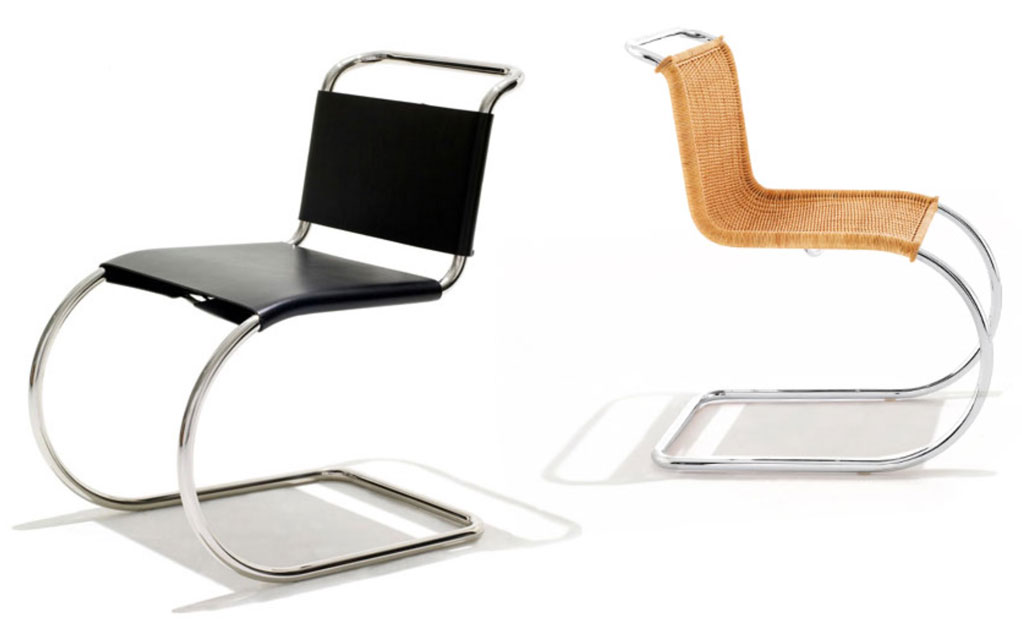 MR10 Chair 1927 Ludwig Mies van der Rohe featured in Chair 500 Designs That Matter