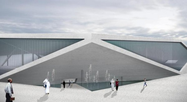 Rem Koolhaas's designs for The Qatar National Library