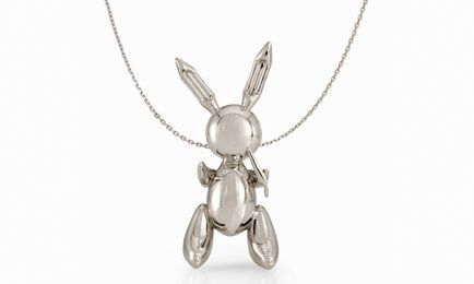 Rabbit Necklace (2005-2009) by Jeff Koons