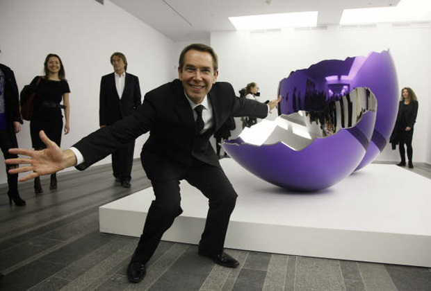 Jeff Koons and Cracked Egg