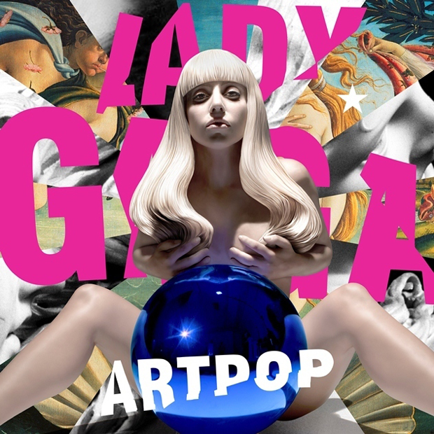 Lady Gaga's Artpop cover by Jeff Koons