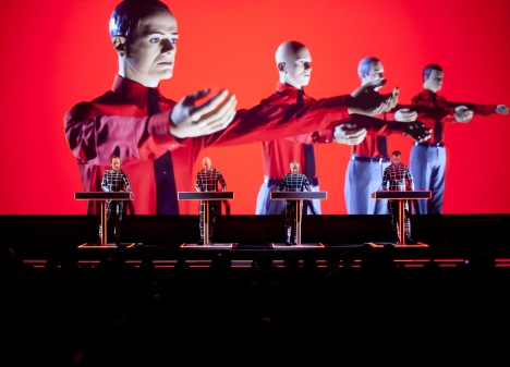Kraftwerk at MoMA, April 2012