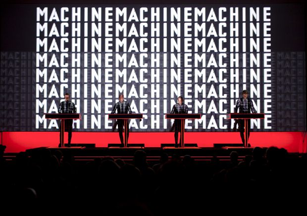 Kraftwerk perform The Man-Machine (1978) at MoMa, New York, Saturday 14 April 2012