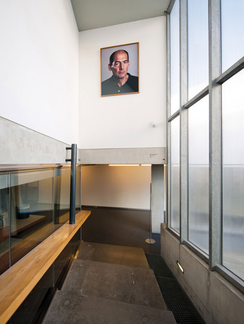 A Koolhaas portrait in the Rotterdam Kunsthal