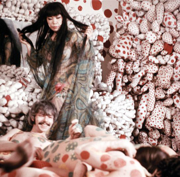 Did Yayoi Kusama conduct the first gay wedding?