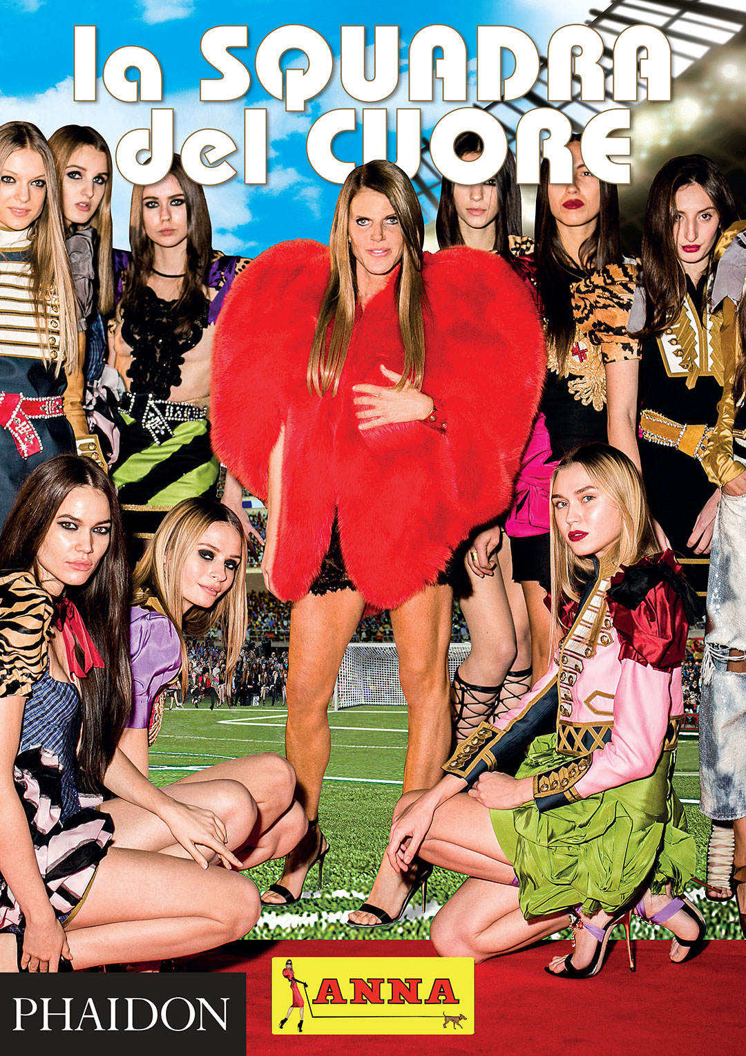 Anna Dello Russo (centre) in an image from her forthcoming book AdR Book: Beyond Fashion