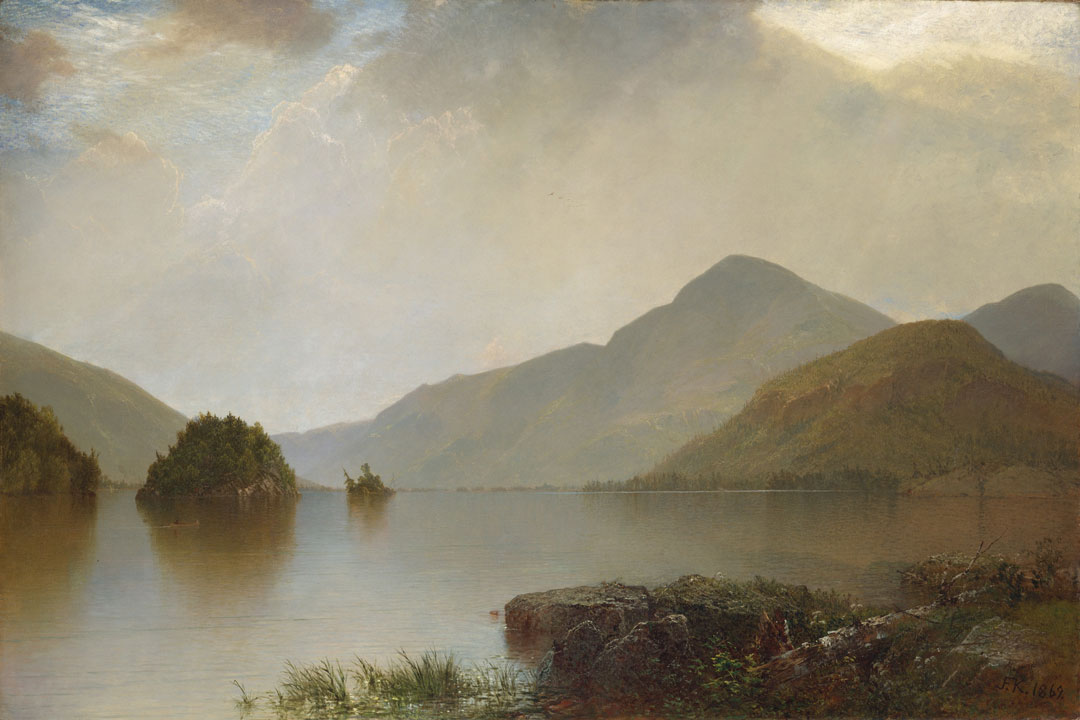 Lake George (1869) by John Frederick Kensett