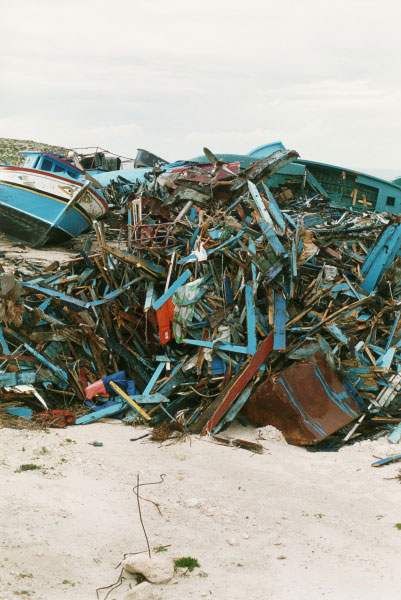 Lampedusa,  2008 - copyright Wolfgang Tillmans courtesy Tate