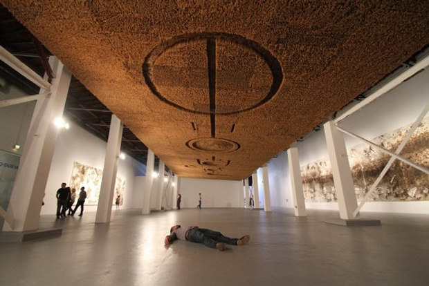 Cai Guo-Qiang Crop Circle