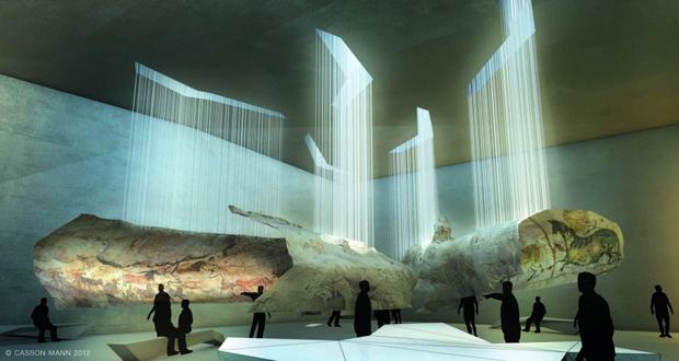 Art Design International : Snøhetta designs cave painting museum architecture