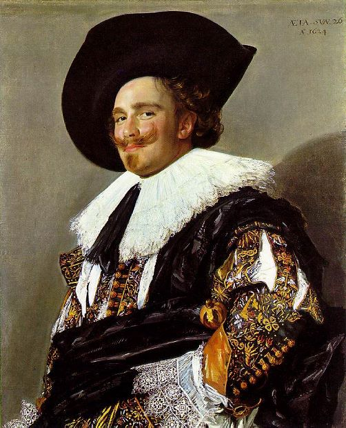 The Laughing Cavalier (1624) by Frans Hals
