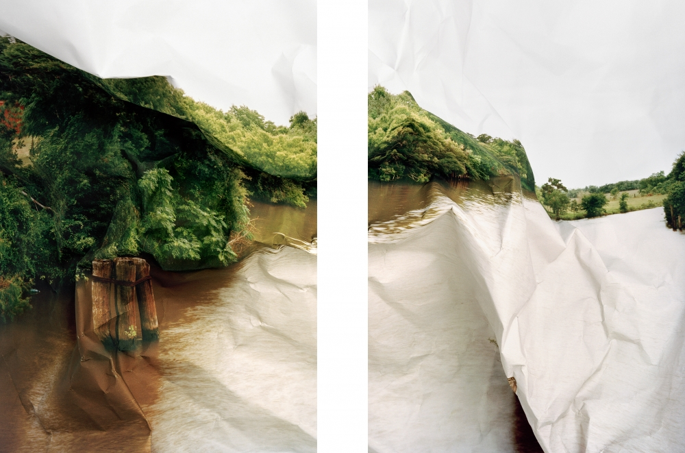 Response to print of River Bend, Texas (2011) by Laura Plageman