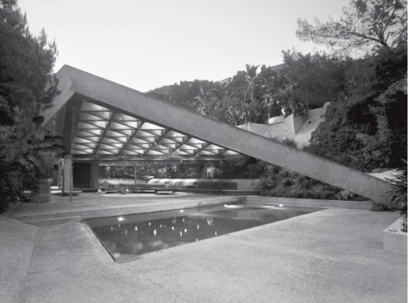 Sheats Goldstein House, Los Angeles, California, 1963, by John Lautner