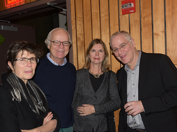 Liz Diller, Robert Tierney, Cathleen McGuigan and Ron Chernow
