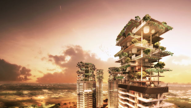 Take a look at India's new tree-lined apartments