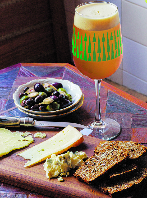 Berliner Weiss and meat and cheese plate as featured in Food u0026 Beer : cheese plate pairings - Pezcame.Com