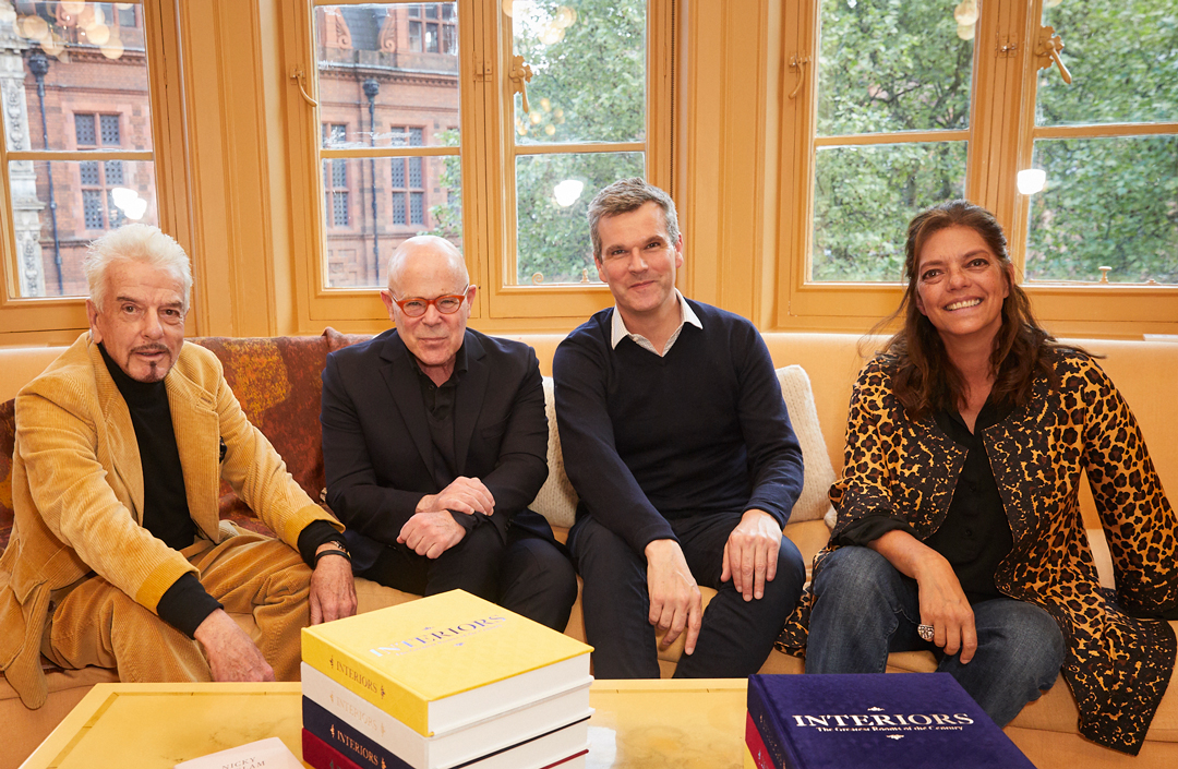MATCHESFASHION COM hosted the launch of Phaidon's Interiors