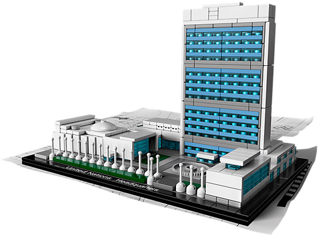 Lego's new UN Headquarters kit