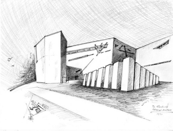 Exhibition of Daniel Libeskind sketches reveals inspirations behind most important projects
