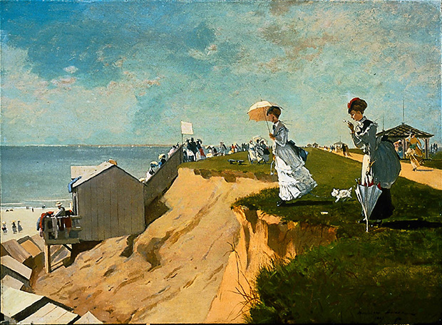Long Branch, New Jersey, (1869) - Winslow Homer