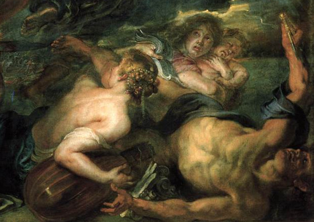 Detail from The Horrors of War (1637–1638) by Peter Paul Rubens. As reproduced in 30,000 Years of Art