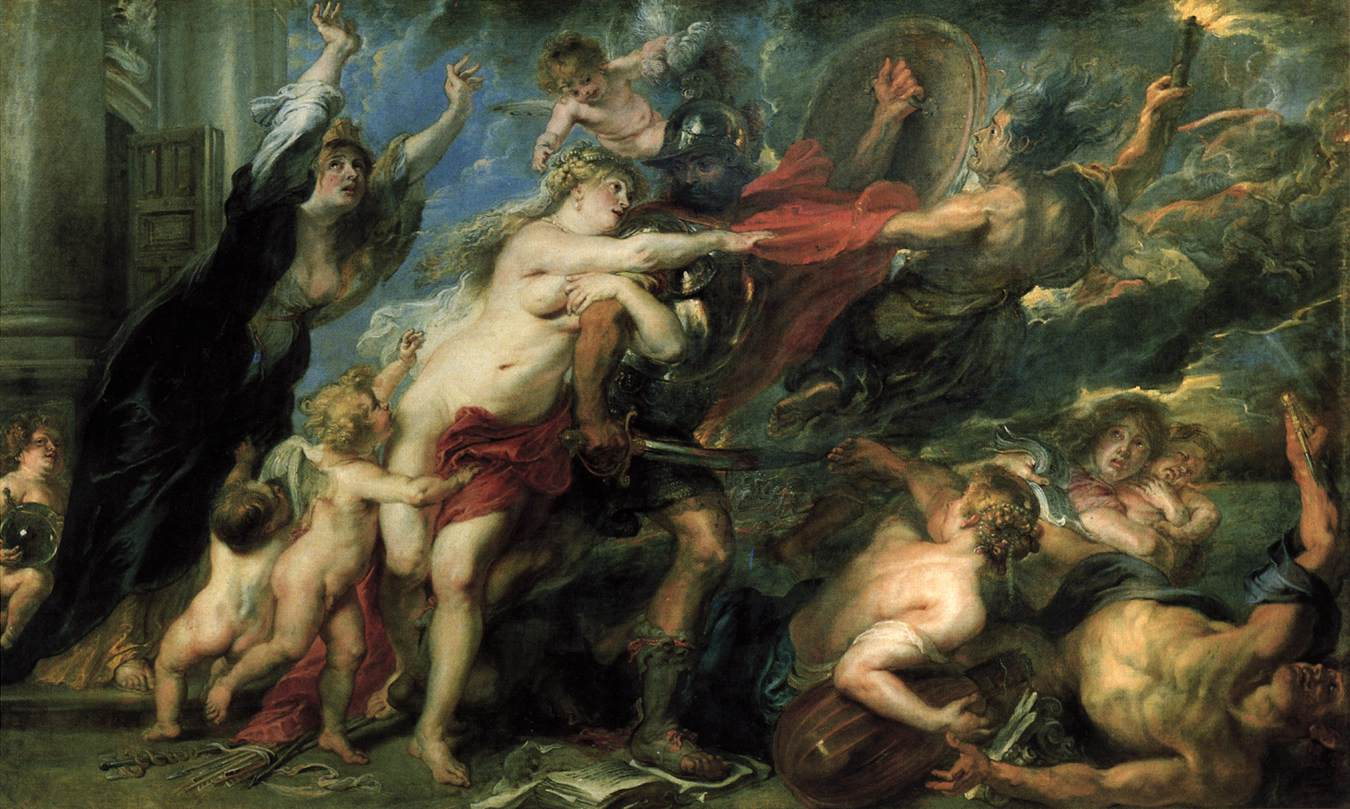 The Horrors of War (1637–1638) by Peter Paul Rubens. As reproduced in 30,000 Years of Art