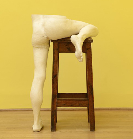 Me Bar Stool 2015 - Sarah Lucas. Photo by Cristiano Corte. www.britishcouncil.org/visualart
