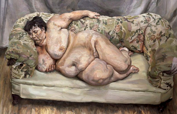 Lucian Freud, Benefits Supervisor Sleeping (1995)
