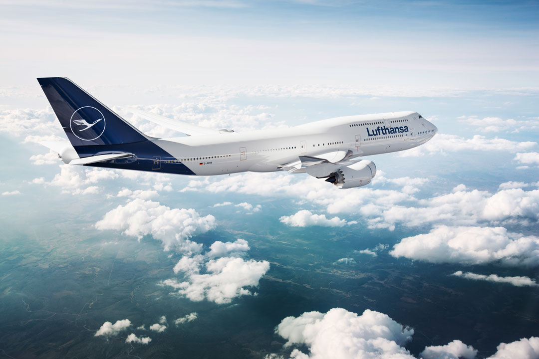 Lufthansa's new-look livery. Image courtesy of Lufthansa