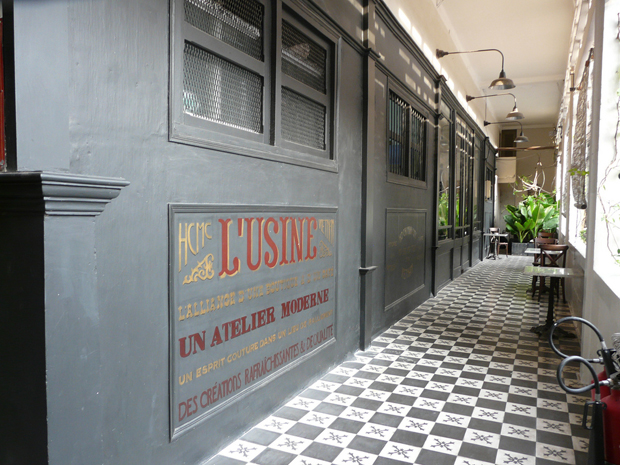 Concept store L'Usine's canteen is a rallying point for HCMC's creative crowd